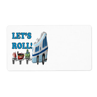 Lets Roll Shipping Labels