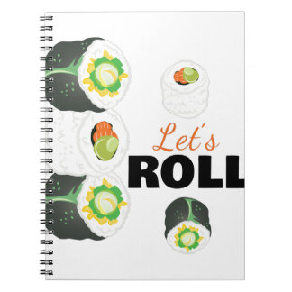 Lets Roll Notebooks