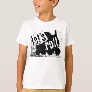 Let's Roll (Roller Hockey) T-Shirt