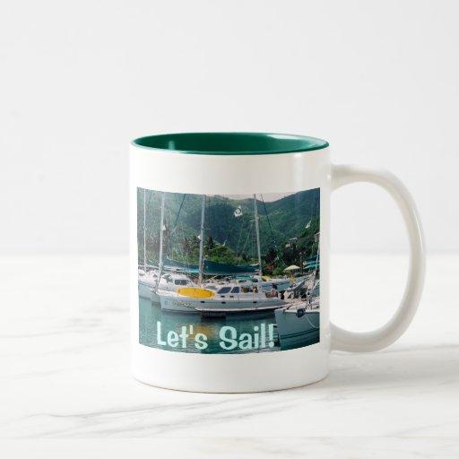 Let's Sail Mug