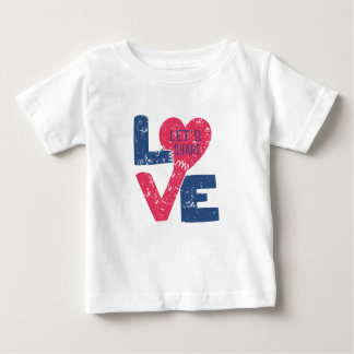 let's share love baby T-Shirt