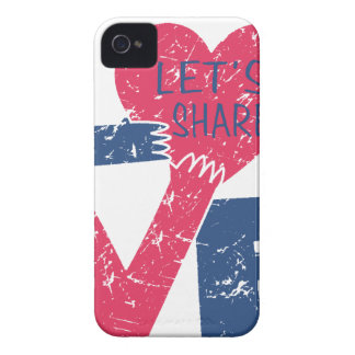 let's share love iPhone 4 covers