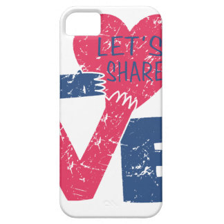 let's share love iPhone 5 covers