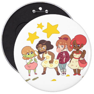 Let's Solve The Mystery 6 Inch Round Button