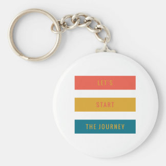Lets Start.PNG Basic Round Button Keychain