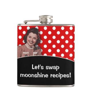 Let's Swap Moonshine Recipes Hip Flask