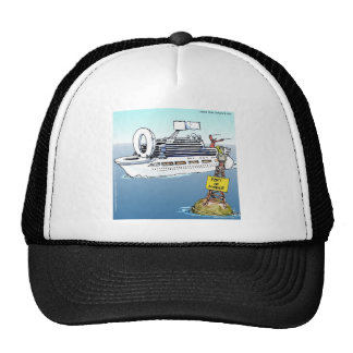 Lets Take A Cruise Funny Gifts Tees & Cards Trucker Hat