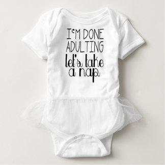 Let's Take a Nap Baby Bodysuit