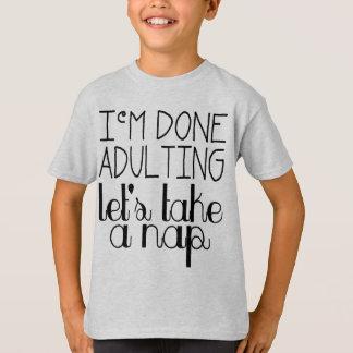 Let's Take a Nap T-Shirt