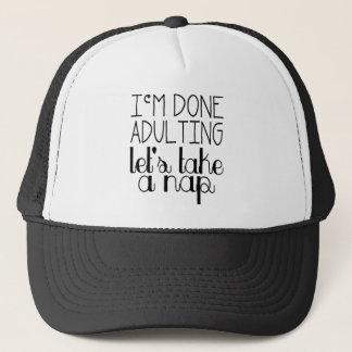 Let's Take a Nap Trucker Hat