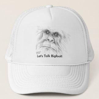 Let's Talk Bigfoot Cap