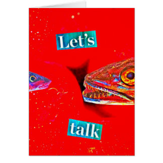 Let's Talk Card