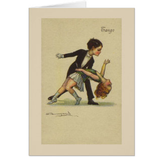 Let's Tango, Card