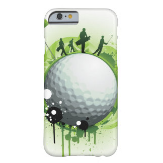 Let's Tee Off For Golf Barely There iPhone 6 Case
