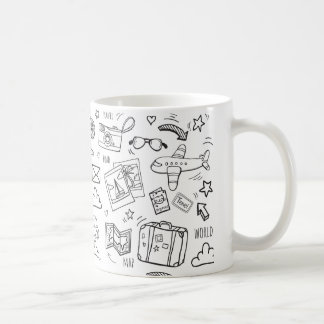 Let's Travel 1 Coffee Mug
