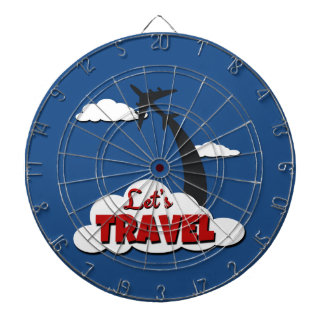 Let's travel dartboard