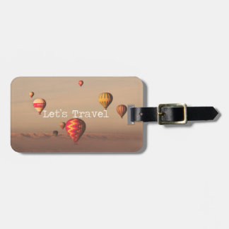 Let's Travel Luggage Tag