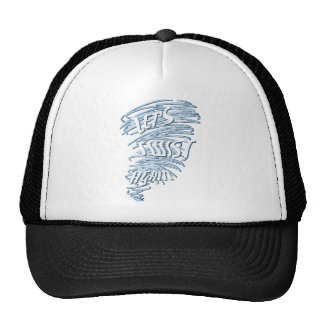 Let's Twist Again Slogan Design Trucker Hat
