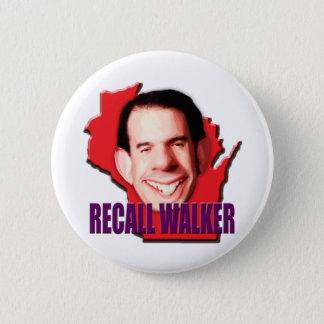 Let's work to Recall Scott Walker 2 Inch Round Button