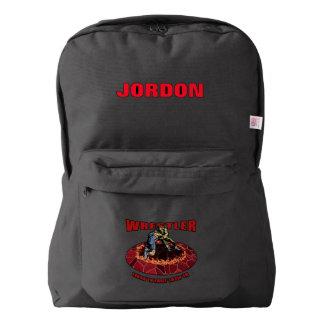 Let's Wrestle Backpack