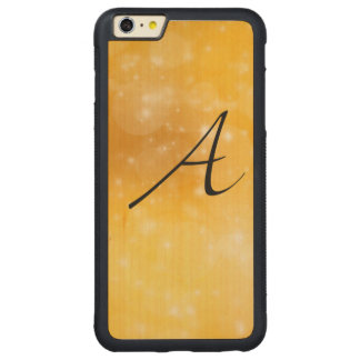 Letter A Carved® Maple iPhone 6 Plus Bumper Case
