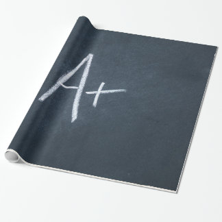 Letter A Chalkboard Background Charcoal Gray Chalk