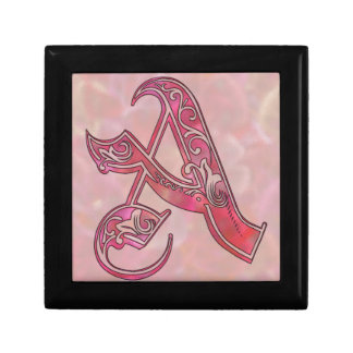 Letter A Gift Box