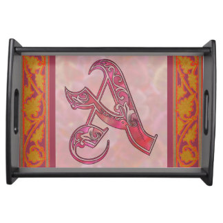 Letter A Serving Tray