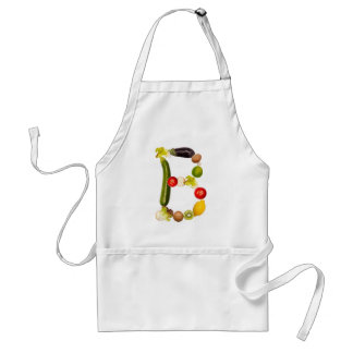 """letter """"B"""" of fruits and vegetables Standard Apron"""