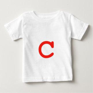 Letter c baby T-Shirt