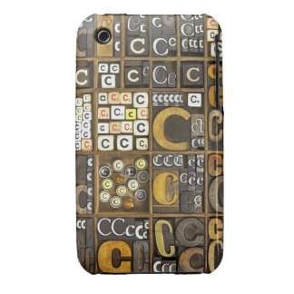 Letter C iPhone 3 Case