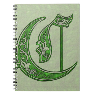 Letter C Notebook
