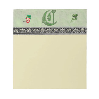 Letter C Notepad