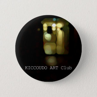 Letter can badge. 2 inch round button