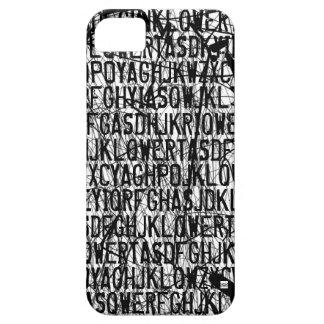 Letter Code Scratch iPhone 5 Case-Mate Case iPhone 5 Case