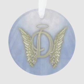 Letter D Angel Monogram