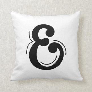 Letter E Initial Pillow
