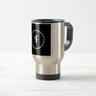 Letter F Travel Mug