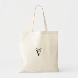 Letter Face Budget Tote