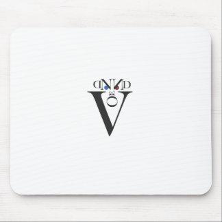 Letter Face Mousepad