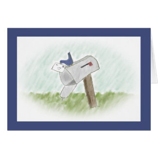 Letter from a Bluebird Customizable Greeting Card