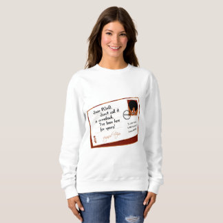 Letter From Afro Sweatshirt