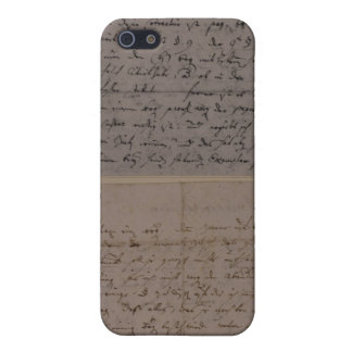 Letter from Leopold Mozart iPhone 5/5S Cover