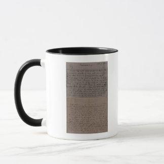 Letter from Leopold Mozart Mug