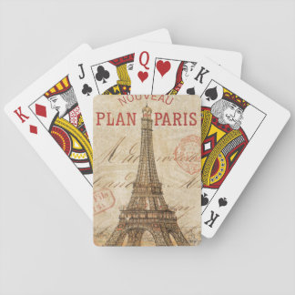 Letter from Paris Poker Deck