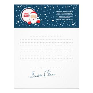 Letter from Santa Claus. Custom Letterheads Customized Letterhead