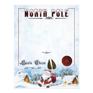 Letter From Santa Customized Letterhead
