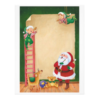 Letter From Santa: Helper Elves Personalized Letterhead