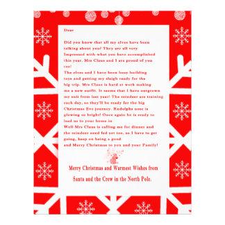 Letter from Santa Letterhead Template