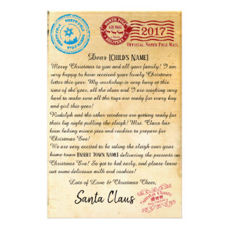 Letter From Santa | North Pole Letters | V2 Stationery